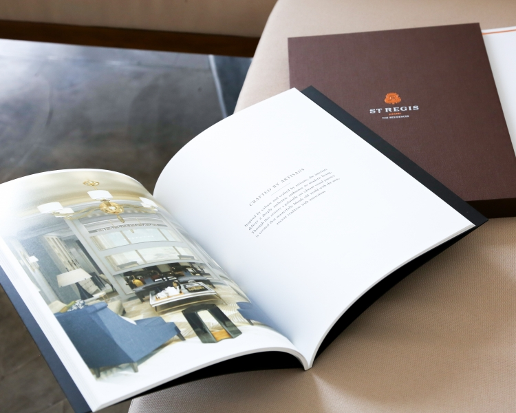 image of St Regis booklet