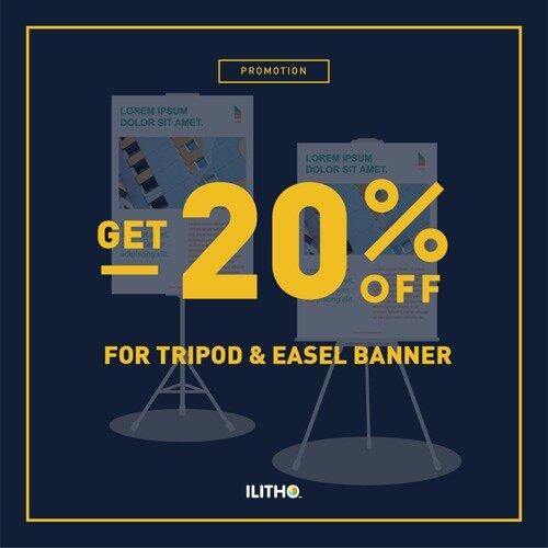 Manfaat Penggunaan Tripod Banner Sebagai Alat Promosi Ilitho Blog Artikel Berita Tips Percetakan Digital Printing Jakarta